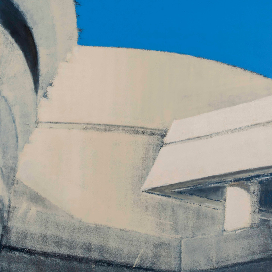 'Surface Marks' Acrylic on canvas, 180x130 cm