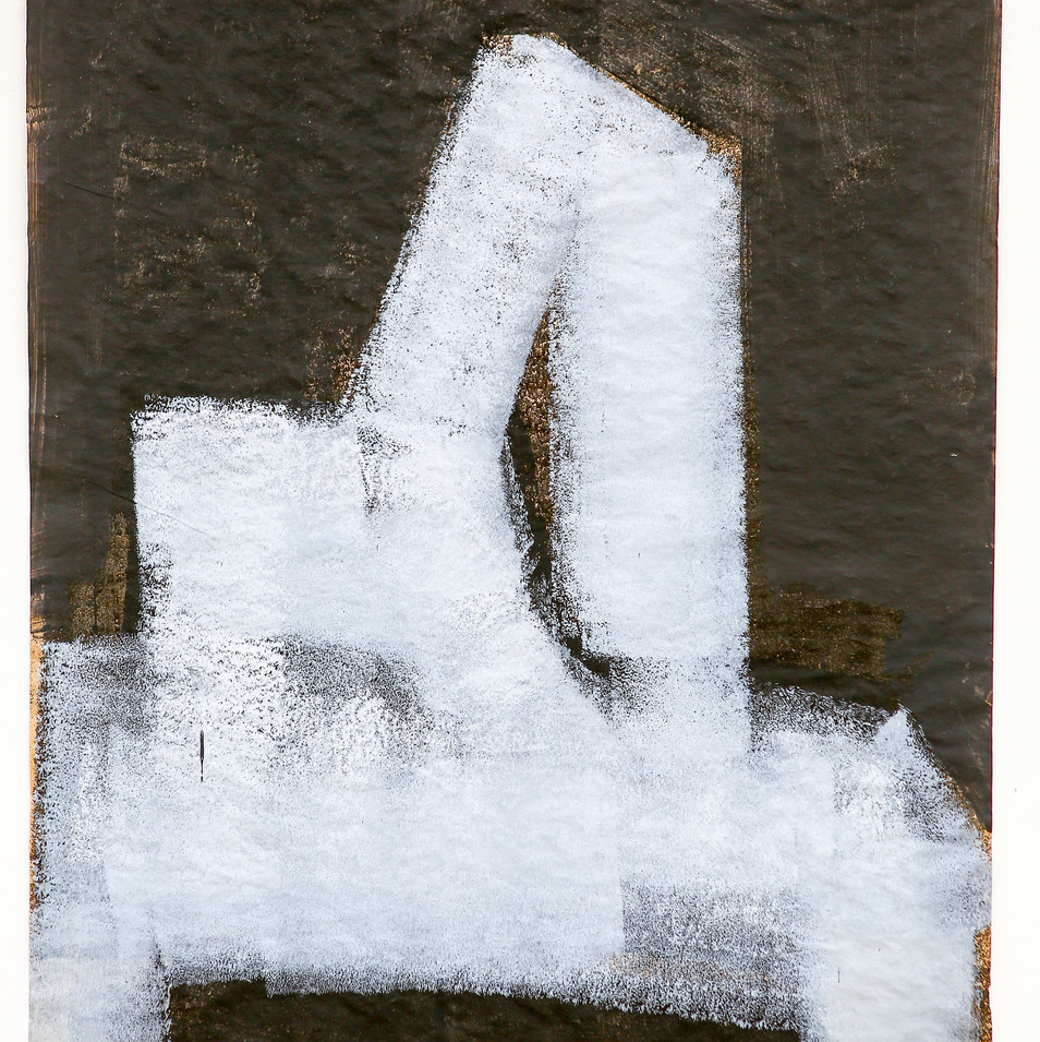 'Massless series' Acrylic on Paper, 90x7
