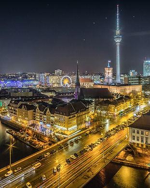 Berlin night [from Unsplash]