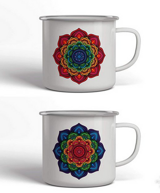Mandala cups