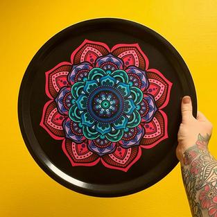 Mandala tray