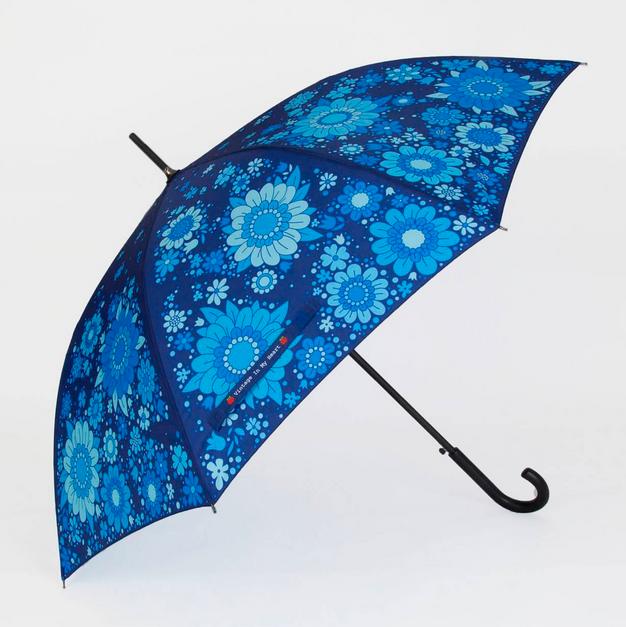 Blue Blossom Umbrella