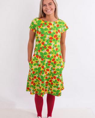 Selmas jordgubbar yellow dress