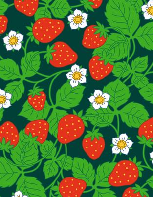 Selmas jordgubbar