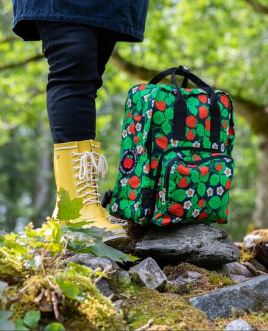 Selmas jordgubbar backpack