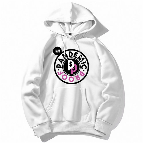 Pandemic Proof Hoodie Pink