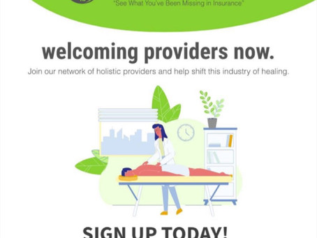 Providers Welcome!