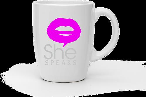 SheSpeaks Coffee Mug