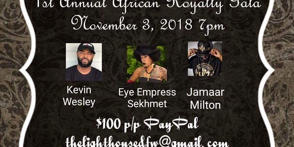 1st Annual African Royalty Gala