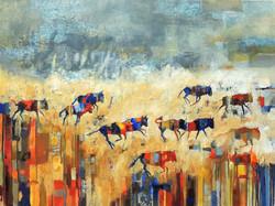 Wildebees Migration