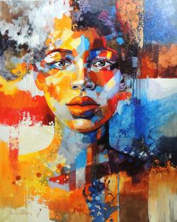 Love (portrait of Portia)