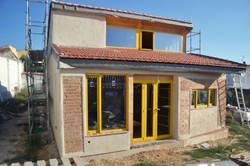 Casa de paja y BTC en Peraleda