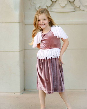 This little lady and this dress... they