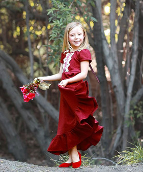 She dances in the enchanted forest to so