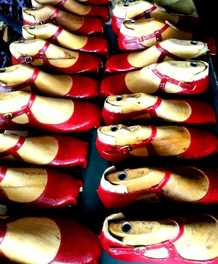 red flats in the making