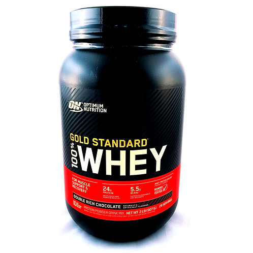 Gold Standard 100% Whey (Double Rich Chocolate) 2lbs
