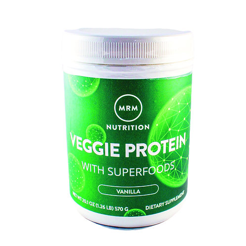 Veggie Protein with Superfoods Vanilla 1lbs