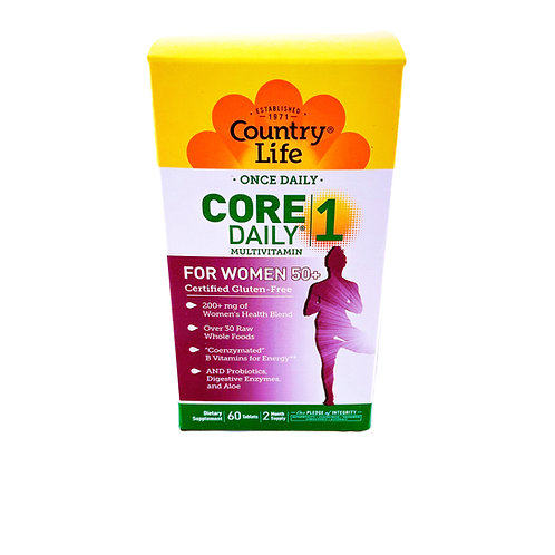 Core One Daily Multi-vitamin for Women 50+ By Country Life