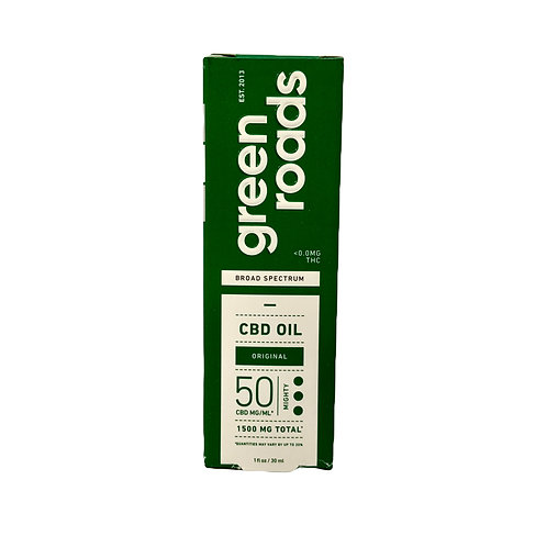 CBD Oil Broad Spectrum  1500mg 1fl.oz
