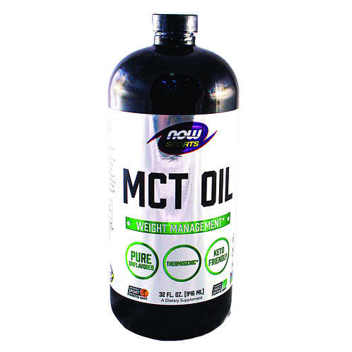 Organic MCT Oil By Now Sports