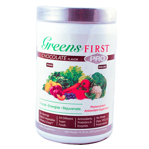 Greens First Pro Chocolate Flavor