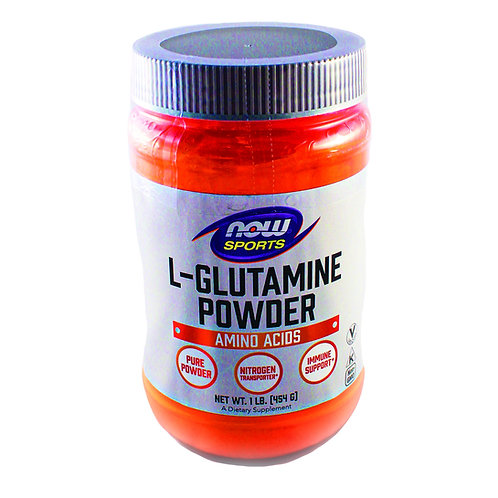 L-Glutamine Powder 1lbs by Now Sports