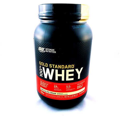 Gold Standard 100% Whey (Whey Vanilla Ice Cream) 2lbs