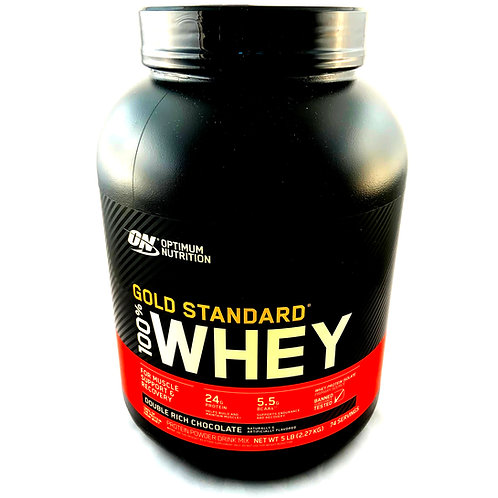 Gold Standard 100% Whey (Double Rich Chocolate) 5lbs