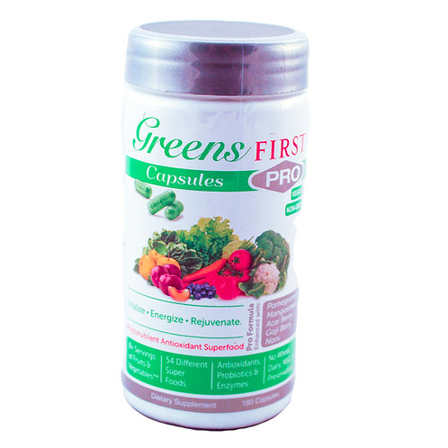 Greens First 180 Capsules