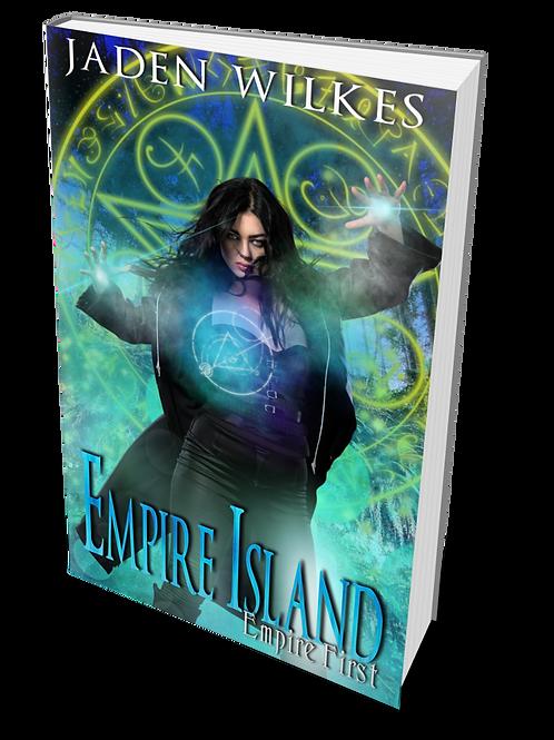 Empire Island signed book