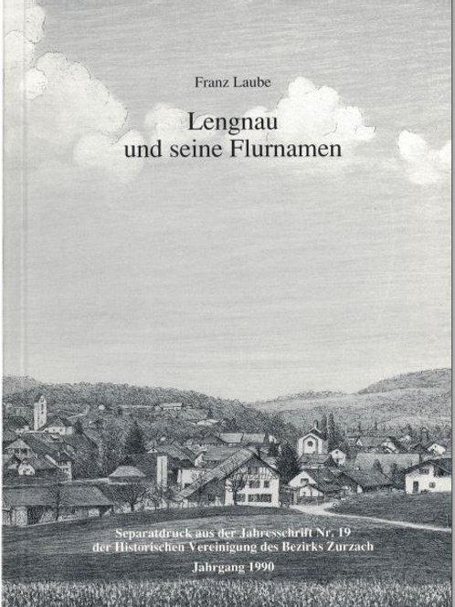 Heft-A5 Auszug 1990/Nr 19; Lengnau und seine Flurnamen