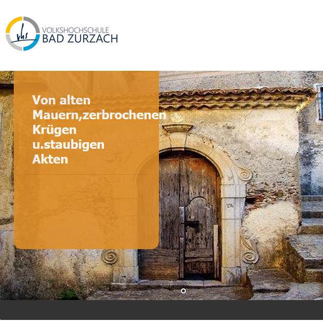 """Podiumsgespräch: """"Von alten Mauern - verbrochenen Krügen und staubigen Akten"""" (1)"""