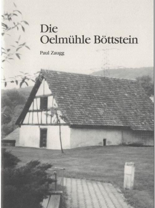 Heft A5 Auszug aus 1987/Nr 18; Die Oelmühle Böttstein
