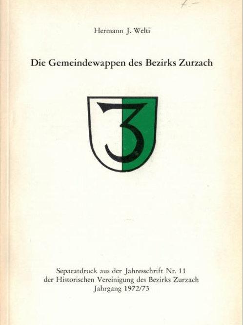Heft-A5 Auszug aus 1972-73/Nr 11;  Gemeindewappen