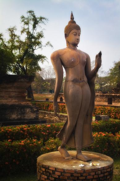 Walking Buddha - Sukothai