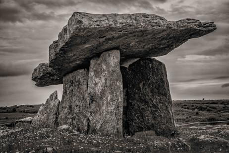 Poulnabrone Dolmen - The Burran