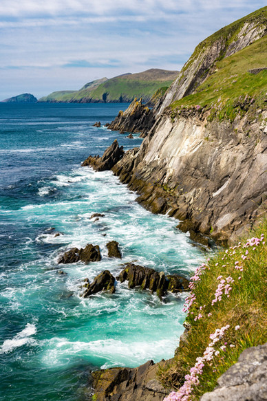 Along the Dingle Peninsula - County Kerry