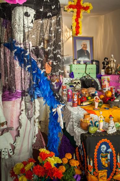 Day of the Dead Decorations - Mazatlan, Mexico