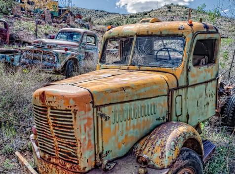 Old Trucks - Gold King Mine, Jerome