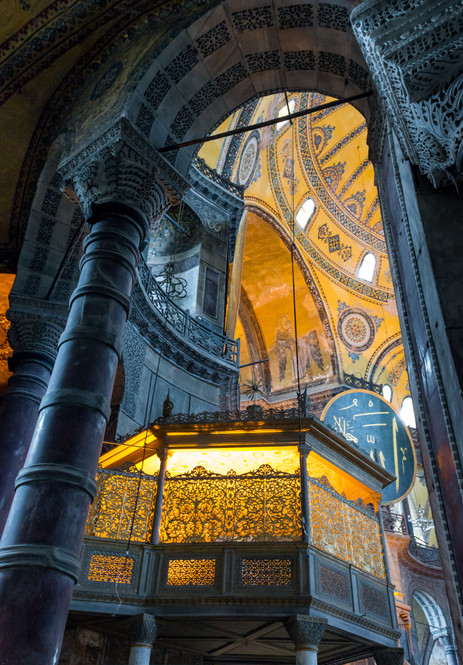 The Mihrab of the Hagia Sophia - Istanbul, Turkey