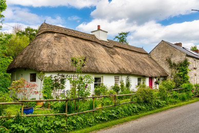 A Rare Traditional Thatched Cottage - Kells, County Meath