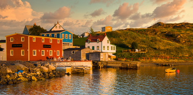 Trinity at Sunset - Newfoundland