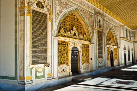 The Harem of the Ottaman Topkapi Palace - Istanbul, Turkey