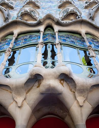 Is it Gaudi or is it a Snazz? - Casa Batllo - Barcelona, Catalonia, Spain
