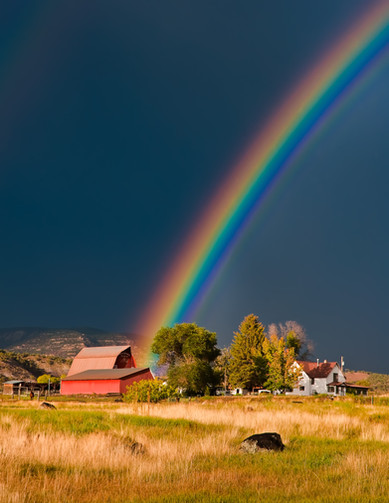 Rocking Spring Ranch Rainbow - Western Colorado