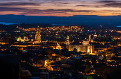 San Miguel de Allende at Night - Mexico
