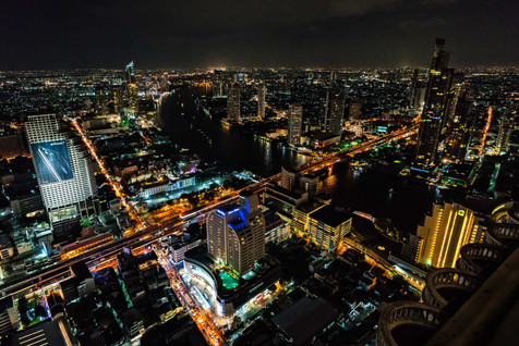 The Night Sky of Bangkok From the State Tower - Bangkok