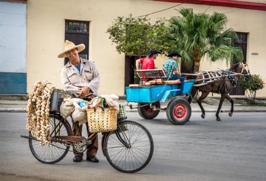 The Garlic Vendor - Bayamo, Cuba