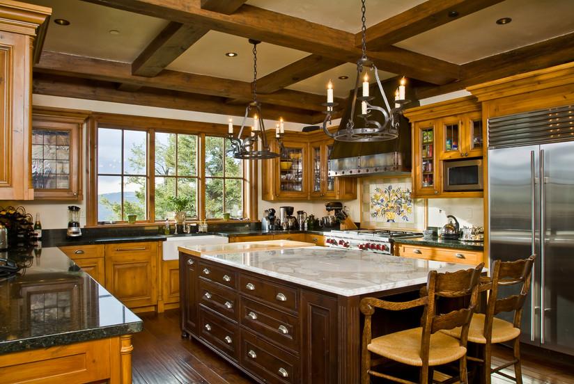 Kitchen - Bachelor Gulch, Colorado
