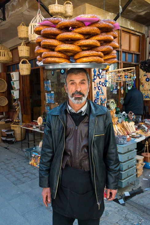 Simit Seller - Gaziantep, Turkey